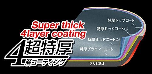パール金属 フライパン 20cm ガス火専用 ブラック ダイキャスト メガストーン コーティング 耐摩耗性試験100万回クリア 驚異の強さ HB-4601