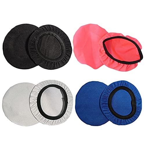 Folewr Cubierta a prueba de polvo de los auriculares del protector del oído lavable elástico para los auriculares en la oreja