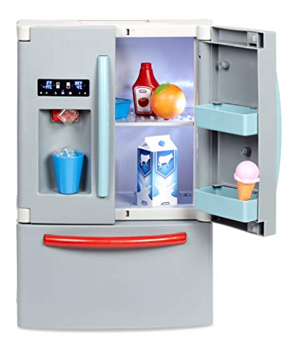 Little Tikes First Fridge - Interactive & Realistic Refrigerator - With Light & Sounds - Pretend Play Appliance for Kids