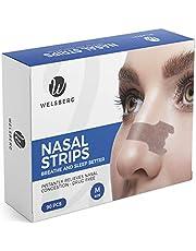 Welsberg 90x tiras nasales contra los ronquidos tiritas nasales antirronquidos, talla M