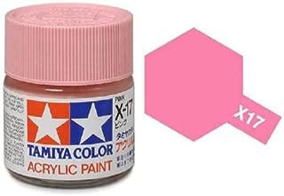 Tamiya Models X-17 Mini Acrylic Paint, Pink