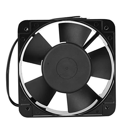 Ventilador, ventilador de disipador de calor de 15 cm, sistema de refrigeración, PBT + 30% línea de vidrio + aspa de ventilador retardante de llama VO, para equipos industriales/horno/caja eléctri