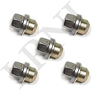 LAND ROVER RANGE ROVER L322 2006-2015 SET OF 5 WHEEL NUTS WITH WASHER LR068126 / RRD500510 / RRD500290