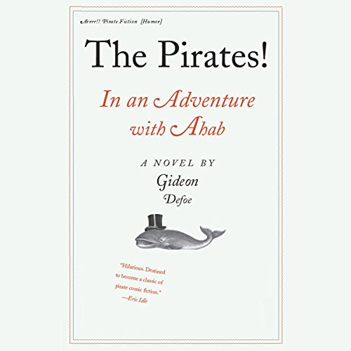 The Pirates! In an Adventure with Ahab audiobook cover art