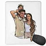 The Ace Family Mouse Pad Laptop Computer Small Anti Slip Mouse Mat for Office/Gaming/Home