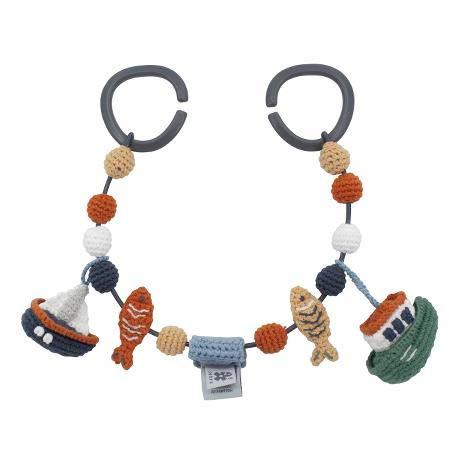 Crochet pram Chain, Seven Seas'