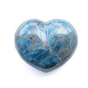 Madagascar Minerals Apatite Large Decorative Heart