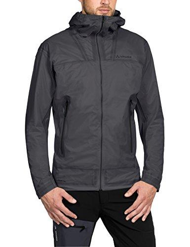 VAUDE Herren Jacke Zebru UL 3L Jacket, iron, L, 404048445400