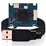 USB Camera Module 5MP Mini Cameras,Full HD 2592X1944 Web Cams with CMOS OV5640 Sensor Webcam,USB Tiny UVC Webcam Industrial Camera for MAC/Windows/Android/Linux/Raspberry Pi PC Webcam
