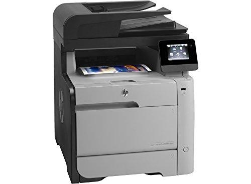 HP MFP M476dn Color LaserJet Pro Farblaserdrucker (Drucken, scannen, kopieren, faxen, 600x600 dpi, USB 2.0, Duplex) (ML) grau/schwarz