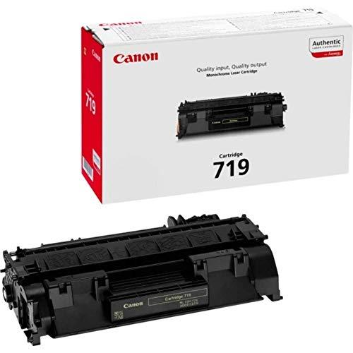 Canon cartucho 719 de tóner BK para impresoras láser i-SENSYS LBP6300dn,6310dn, 6650dn,...