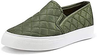 JENN ARDOR Women's Fashion Sneakers Classic Slip on Flats...