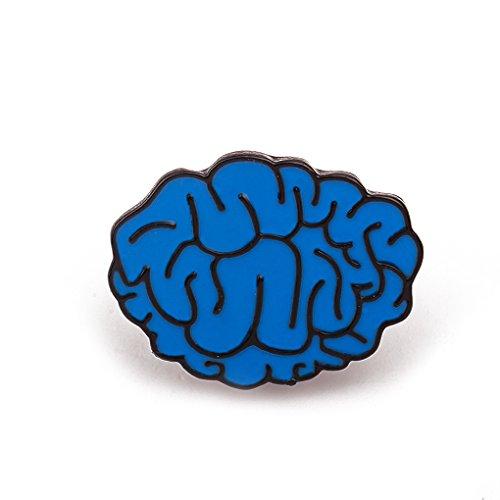 Bobury 1pc Brooch Pin Cartoon Creative Órganos Humanos Corsage Bufandas Shawl Clip Accesorios de Ropa