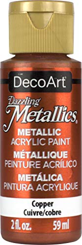 DecoArt Dazzling Metallics 2-Ounce Copper Acrylic Paint