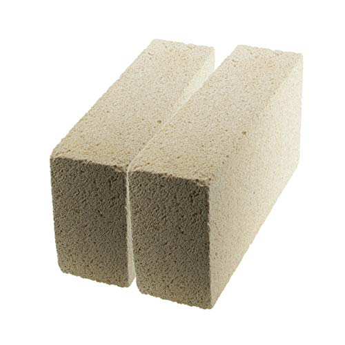 WireJewelry Medium Duty Insulating Fire Brick, Rated Up to 2300 Degree Fahrenheit - 2 Pack