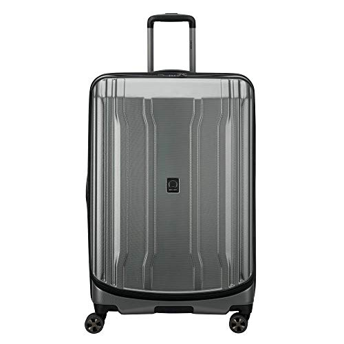 DELSEY Paris Cruise Lite Hardside 2.0 Expandable Luggage, Spinner Wheels, Platinum, Checked-Large 29 Inch