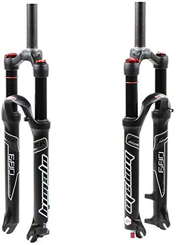 Horquilla De Suspensión para Bicicleta De Aire 26 27.5 29 Pulgadas MTB Rebote Ajustar QR Travel 120mm ABS Lock Ultralight Gas Shock XC Bike Black,C-29inch