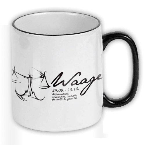FunTasstic Tasse Sternzeichen Waage Kaffee-Pott (T053)