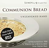 Unleavened Hard Communion Bread (Box of 500): Lumen by Abingdon Press