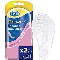 Scholl Plantillas, óptimas para zapatos de tacón alto con tecnología Gel Activ, discreción y comodidad, 2 plantillas