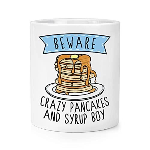 Beware Crazy Pancakes and Sirup Boy Make-up Pinsel Bleistift Topf
