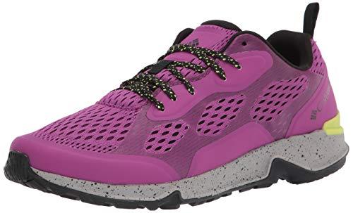 Columbia Women's Vitesse Hiking Shoe, Berry jam/Voltage, 9