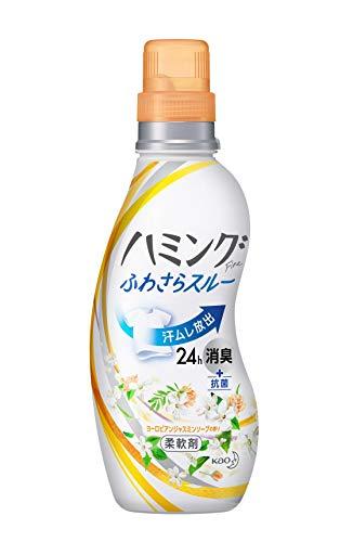 ハミングファイン 柔軟剤 ヨーロピアンジャスミンソープの香り 本体 570ml