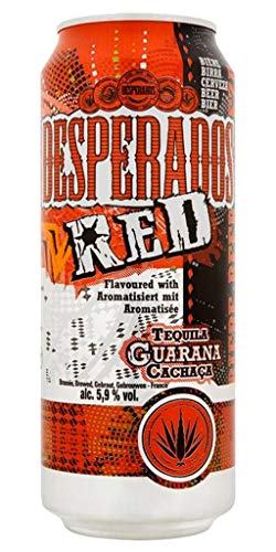 DESPERADOS Red Tequila Guarana Cachaça 50cl (lot de 48 canettes)