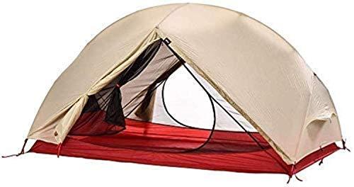 CHHD Zelt für Camping 2-Personen-Campingzelt, sofortige Installation, mit Flug- und Tragetasche, wasserdichtes herunterziehbares Campingzelt