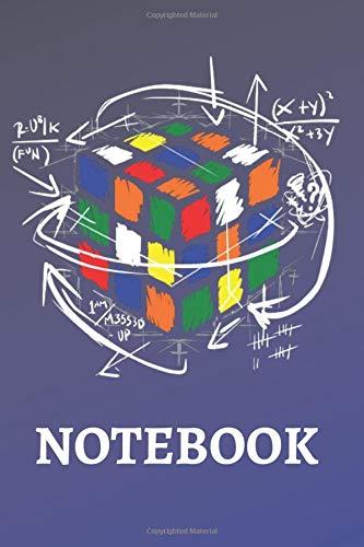 Rubik Cube Math Notebook: 6x9 Rubik Cube Notebook, Rubik Cube Equation Math, 120 Graph Pages School College
