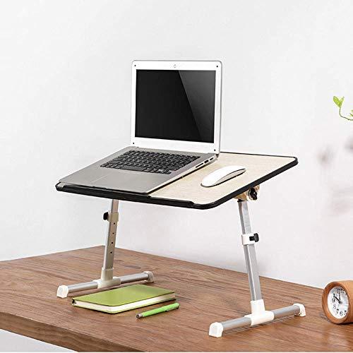 FGDSA Elevador de Oficina de pie computadora de Escritorio Escritorio portátil Monitor Mesa móvil Altura Ajustable 30x60 cm Escritorio Grande