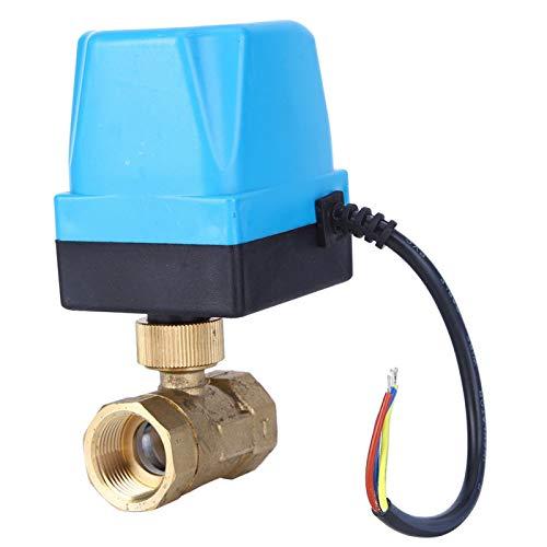 Válvula de control de flujo Válvula de 2 vías Válvula de bola de estructura de precisión para sistema de calefacción para calefacción por suelo radiante(G3/4', pink)