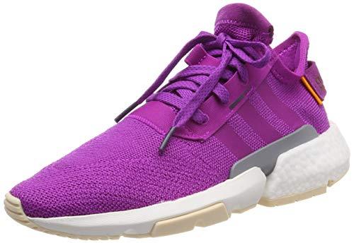 adidas Pod-S3.1 W, Zapatillas de Gimnasia Mujer, Rosa (Vivid Pink/Vivid Pink/Legend Purple Vivid Pink/Vivid Pink/Legend Purple), 39 1/3 EU