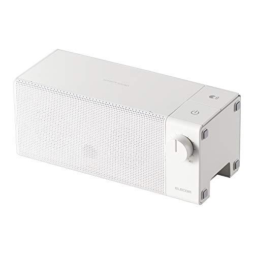 エレコム TVスピーカー ワイヤレス 2.4GHz 手元スピーカー AFFINITY SOUND TVWT01 ホワイト SP-TVWT01CWH