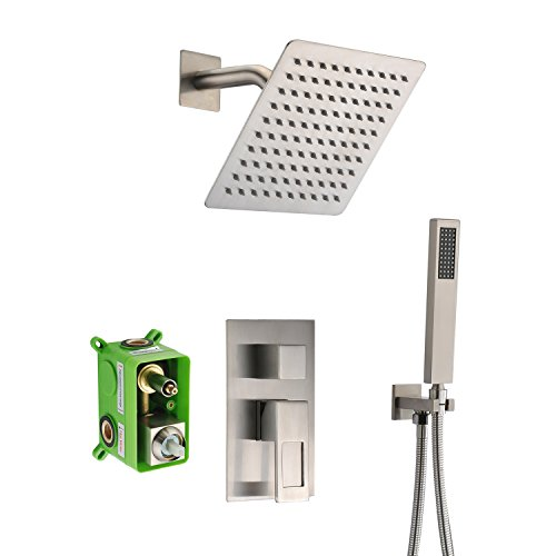 SUMERAIN Shower Faucet Brushed Nickel,Rough-in...
