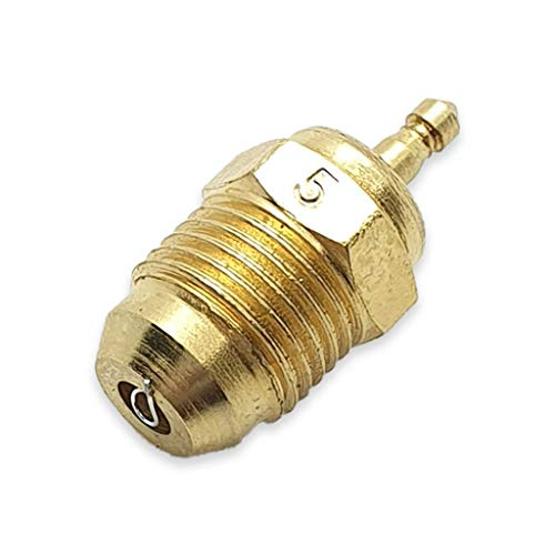 CONICAL Turbo Glow Plug / BUJIAS RC N° 5 - FOR Racing Stroke Engines - RC Cars - ON Road