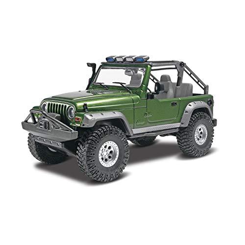 Revell Monogram maquette de voiture Jeep Wrangler Rubicon échelle 1/25