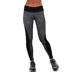Longra Femmes Yoga Sports Pantalons (S)