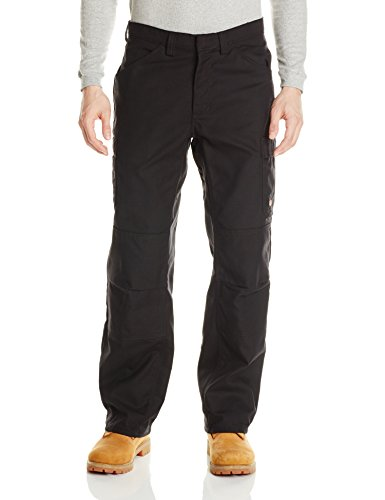 Red Kap Men's Shop Pant, Black, 36W x 32L