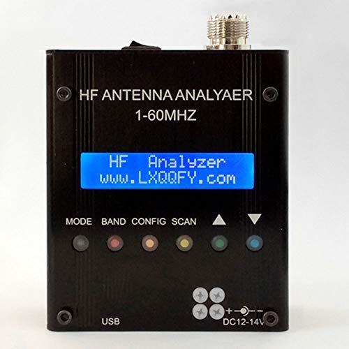 MASODHDFX Bluetooth Shortwave antenne-analysator Testbare stand-wave impedantie Capaciteit Aangesloten Computerantenne Testfrequentie