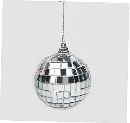Hotaden 1pc Christmas Ball Ornaments 5cm Mini Disco Mirror Ball Christmas Tree Decoration Xmas Party Favor and Gift