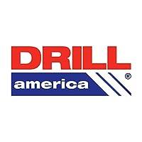 0.9cm HSS Heavy Duty Split Point Stub Drill Bit, Drill America