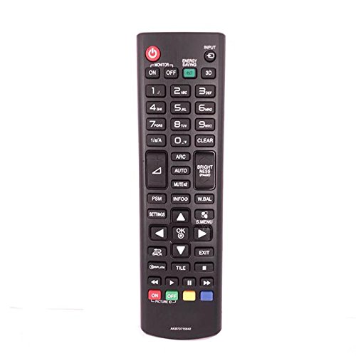 Mando a Distancia Universal de Repuesto para televisor LG LCD AKB73975763 AKB73715642
