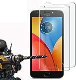 2 Pack - Moto E4 Verre Trempé, FoneExpert® Vitre Protection Film de protecteur d'écran Glass Film...