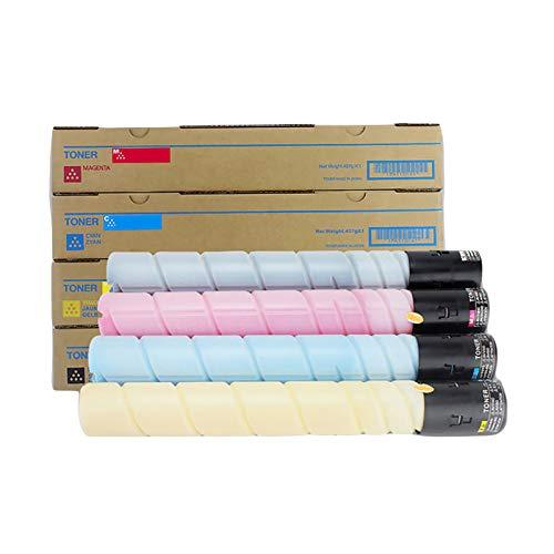 EODPOT ADTCT225 Cartucho de tóner Excelente Cartucho de tóner de Alta Capacidad, Negro 10,000 páginas Color 5,000 páginas Imprimir Volumen, Compatible con Aurora DC225 C265 Yellow