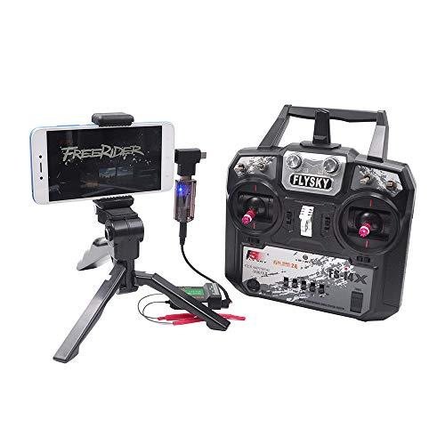 Goolsky- 8-en-1 RC Simulador de Vuelo Simulador inalámbrico para Flysky i6x FUTABA Radiolink AT9s AT10