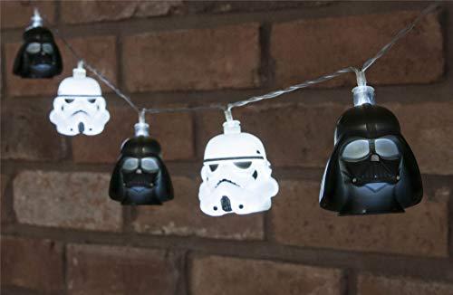 Star Wars - Darth Vader And Stormtrooper String Light Set