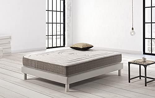 Colchon 150x200 Muelles Ensacados Firmeza Alta Marca Living Sofa