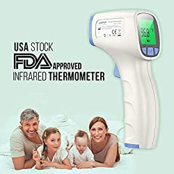 [[ U.S Stock ]] O2 Lifecare : Infrared Thermometer, Multifunctional Thermometer, Non-Contact Measurement : o2 Lifecare 2~4 Shipping Guarantee !!