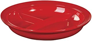 compartmentalized dinner plates